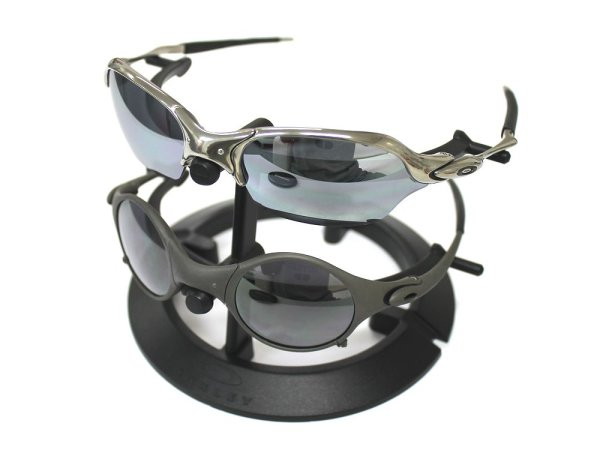 Photo2: Oakley Plastic Sunglass Display Stand 2-Tiar Black