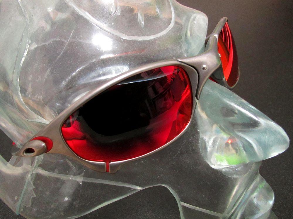 c7ac94015f2 Oakley Juliet Red Frame Deep Grey Lens