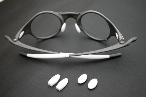 Photo3: Complete rubber set for MARS White