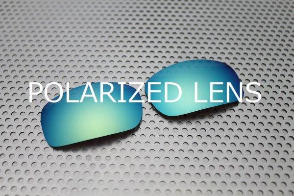 Photo1: X-SQUARED - Turquoise Blue - Polarized