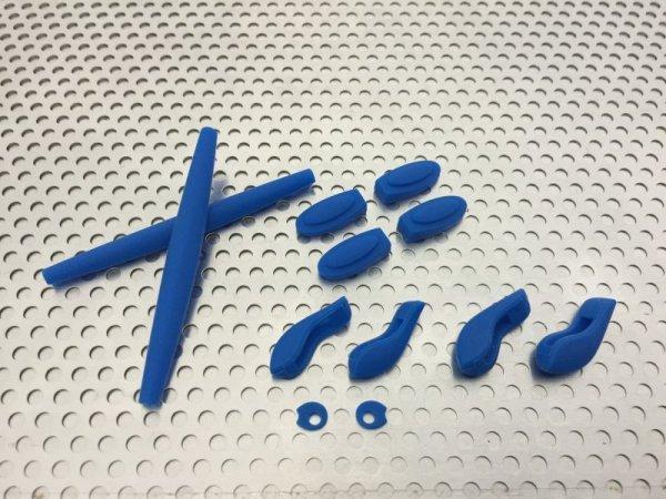 Photo1: Complete rubber set for JULIET Blue