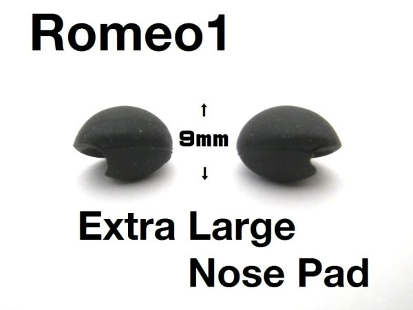 Photo1: Romeo1 Asian fit Extra Large Nose Pads