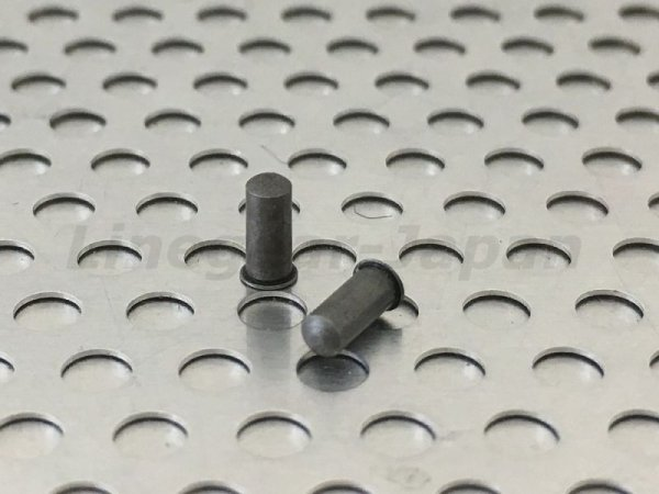 Photo2: Replacement Nose Bridge Pin for Penny - X-Metal color 5.25mm