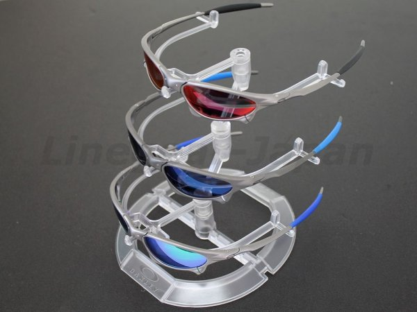 Photo2: Oakley Clear Sunglass Display Stand 3-Tier