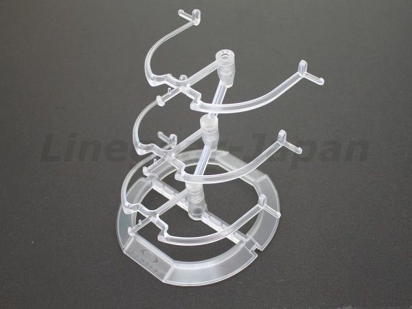Photo1: Oakley Clear Sunglass Display Stand 3-Tier