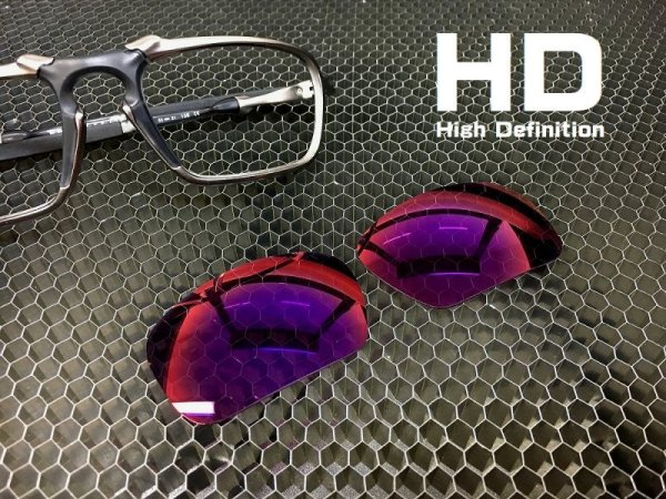 Photo1: BADMAN - HD Red Mirror