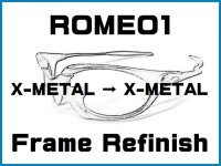 Oakley Romeo1  X-Metal Color Frame Refinish