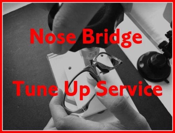 Photo1: Nose Bridge Tune Up Service
