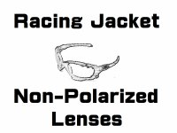 New RACING JACKET  Non-Polarized Lenses