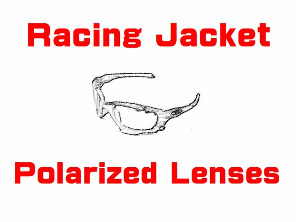 Photo1: New RACING JACKET Polarized Lenses