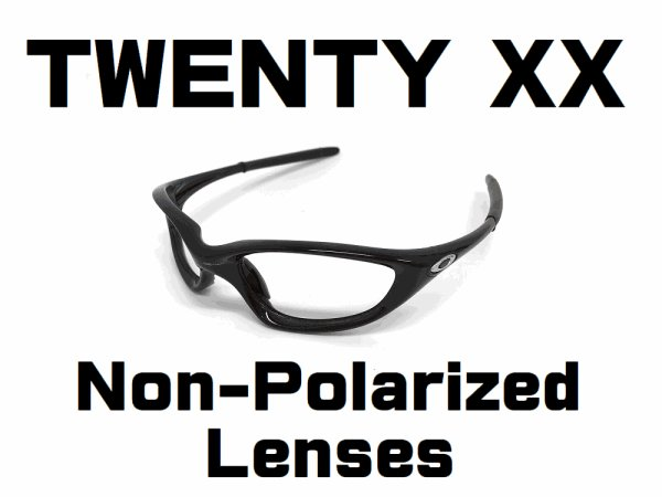 Photo1: TWENTY XX  Non-Polarized Lenses