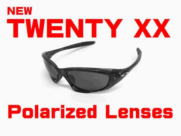 Photo1: New TWENTY XX Polarized Lenses