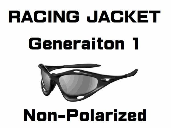 Photo1: RACING JACKET  Generation.1 Non-Polarized Lenses