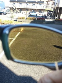 Other Photos1: X-SQUARED - NXT EMBEDDED - Gold Mirror / Dark Green lens