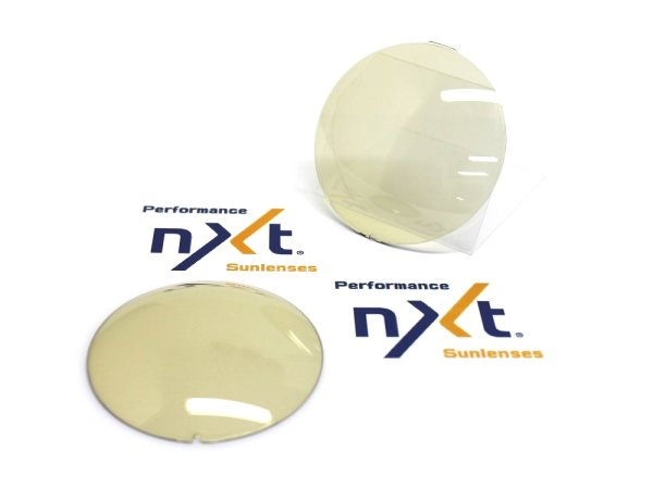 Photo1: NXT Photochromic Lens Yellow / Dark Gray [NXTV - DAYNITE]