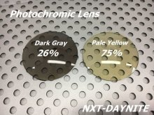 Other Photos1: NXT Photochromic Lens Yellow / Dark Gray [NXTV - DAYNITE]