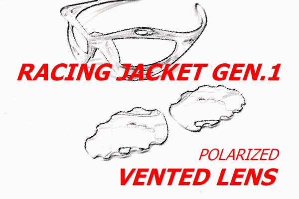 Photo1: Racing Jacket Gen.1 Vented Polarized Lens