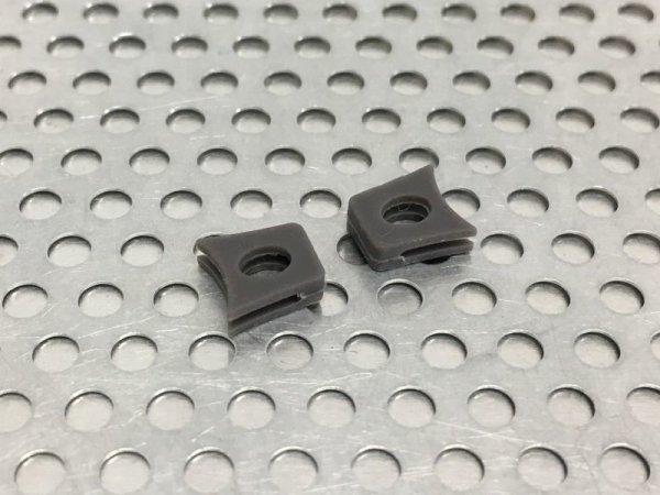 Photo3: Replacement Nose Bridge Flex Coupler 90 Super Hard  - Dark Gray