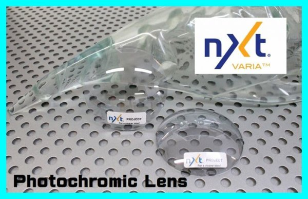 Photo1: NXT Lens Photochromic TITANIUM CLEAR