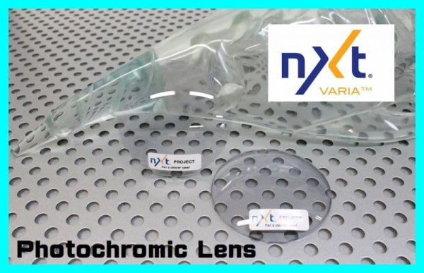 Photo1: NXT Photochromic Lens Sky Clear  Clear/Dark Gray  [NXTV-SKYC]