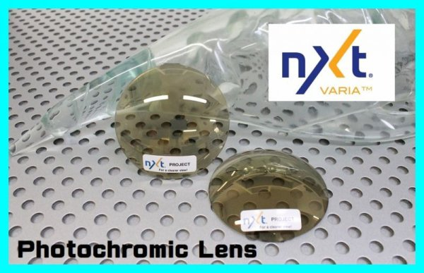 Photo1: NXT Lens Photochromic GOLD VARIA