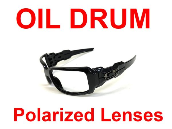 Photo1: OIL DRUM Polarized Lenses