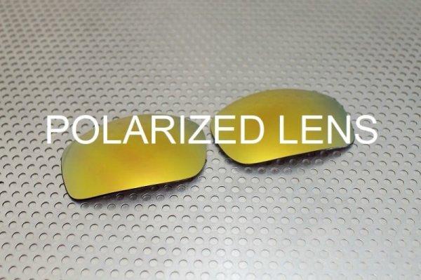 Photo1: X-SQUARED - 24K Gold - UV420 Polarized