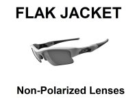 FLAK JACKET Non-Polarized Lenses
