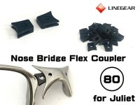 Replacement Nose Bridge Flex Coupler / Hardness:80 - Black