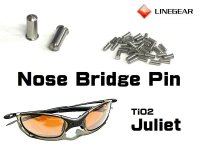 Replacement Nose Bridge Polished Pin for TiO2 Juliet