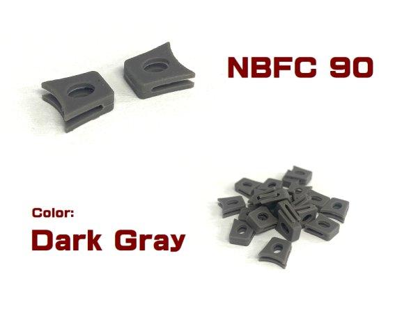 Photo2: Replacement Nose Bridge Flex Coupler 90 - Dark Gray