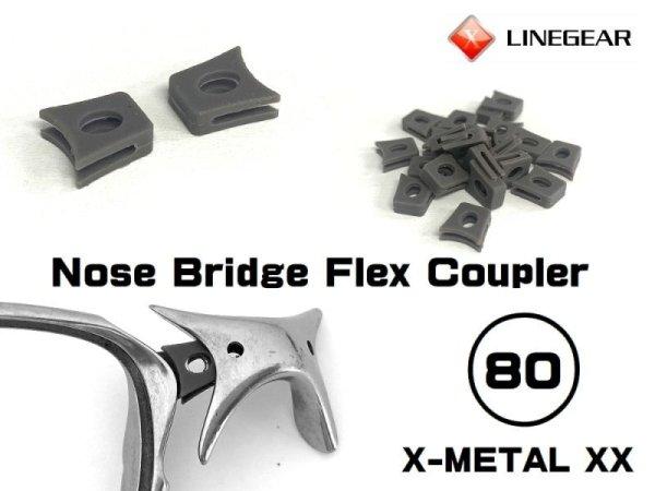Photo1: Replacement Nose Bridge Flex Coupler 80 - Dark Gray