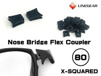 Replacement Nose Bridge Flex Coupler 80 - Black