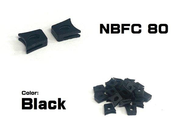 Photo2: Replacement Nose Bridge Flex Coupler 80 - Black