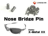Replacement Nose Bridge Pin for X-Metal XX - Matte Silver