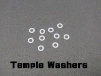 Temple Washers for X-SQUARED (10 pieces)