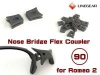 Replacement Nose Bridge Flex Coupler 90 - Dark Gray