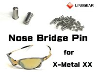 Replacement Nose Bridge Pin for X-Metal XX - 24K