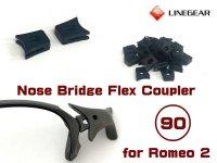Replacement Nose Bridge Flex Coupler 90 - Black