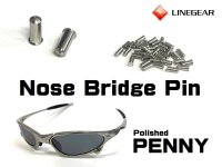 Replacement Nose Bridge Pin 5.25mm for Penny - Polished Frame