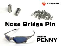 Replacement Nose Bridge Pin 5.25mm for Penny - Polished