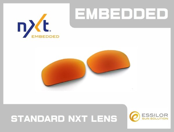 Photo1: X-SQUARED - Fire - NXT® EMBEDDED - Non Polarized