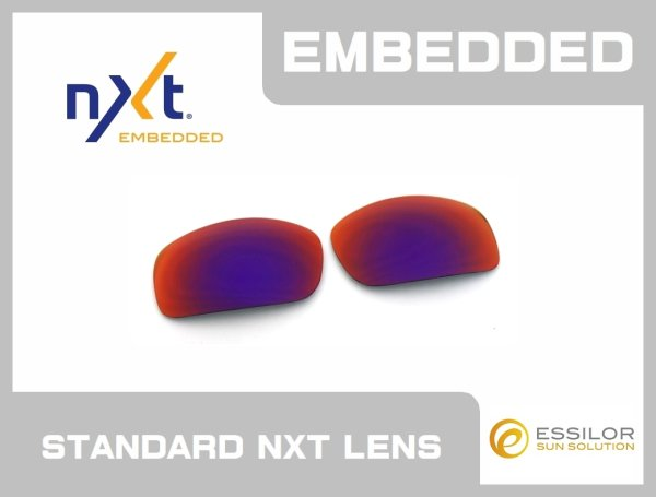 Photo1: X-SQUARED - Premium Red - NXT® EMBEDDED - Non Polarized