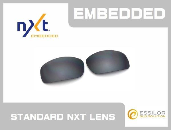 Photo1: X-SQUARED - Flash Black - NXT® EMBEDDED - Non Polarized
