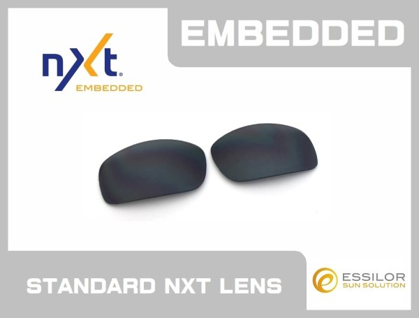 Photo1: X-SQUARED - Black - NXT® EMBEDDED - Non Polarized