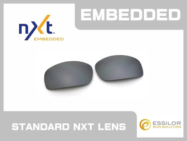 Photo1: X-SQUARED - Slate - NXT® EMBEDDED - Non Polarized