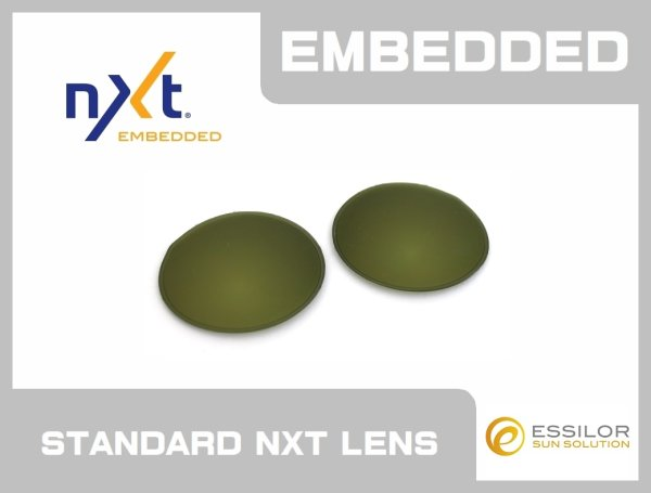 Photo1:  MARS - Green/ Gold - NXT® EMBEDDED Non-Polarized