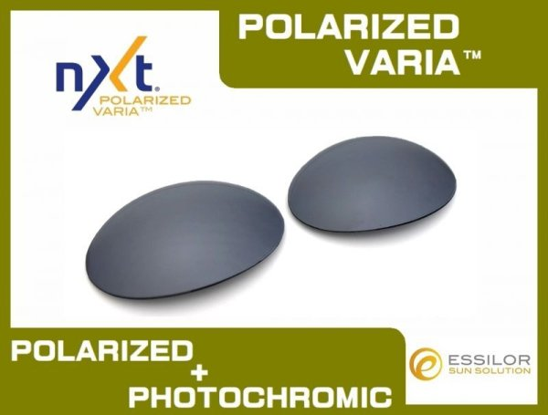 Photo1: ROMEO1 - Flash Black - NXT® POLARIZED  VARIA™ Photochromic