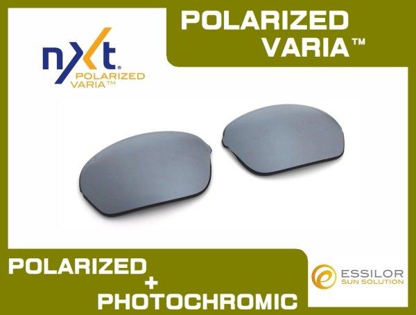 Photo1: HALF-X - Flash Black - NXT® POLARIZED VARIA™ Photochromic