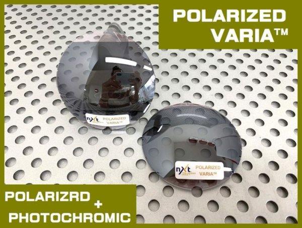 Photo1: NXT® POLARIZED VARIA™ - Flash Black / Polarized Photochromic Lens for other frames